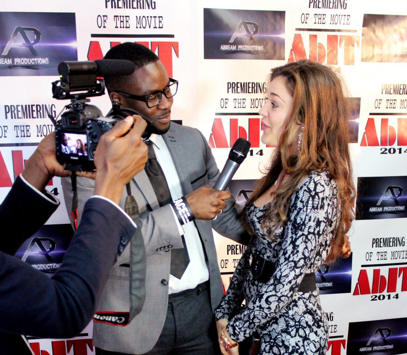 The London AbIT premiere, soon to be premièring in Ghana